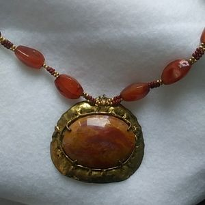 Red Carnelian/Red Agate pendant